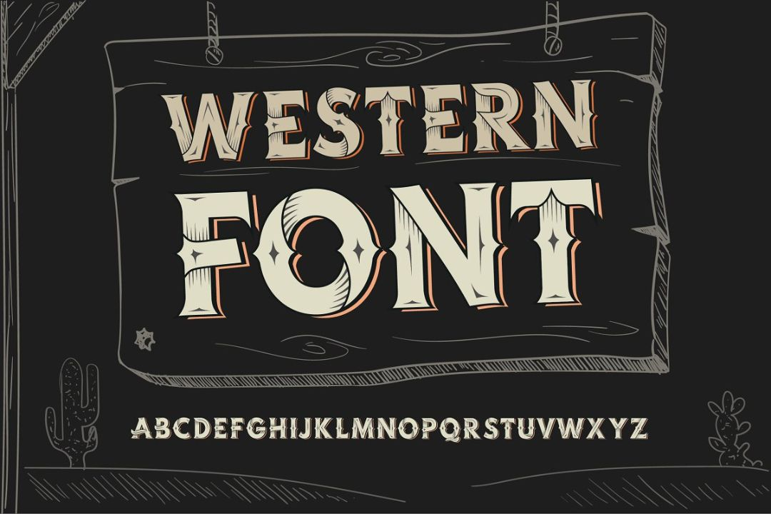 Handcrafted Vintage Display Fonts