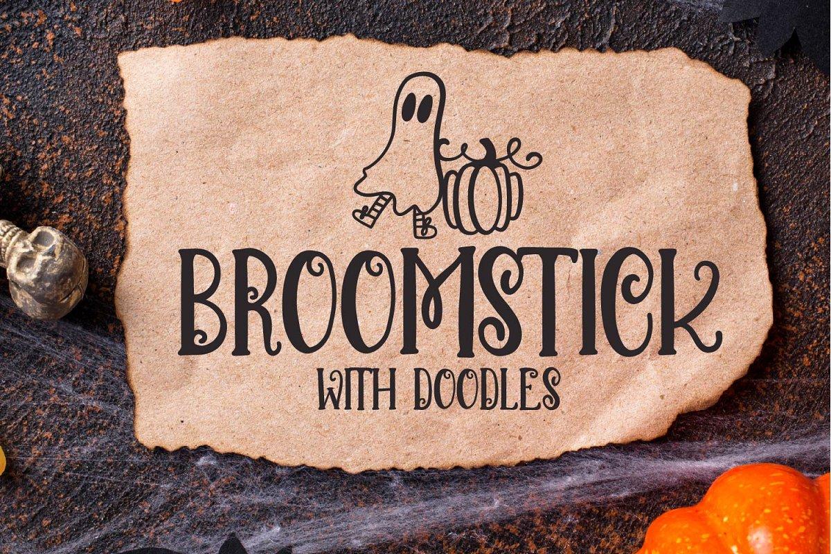 Spooky Halloween Doodle Fonts