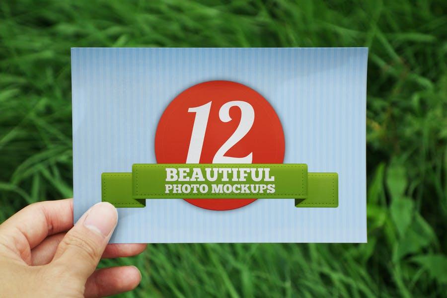12 Outdoor Photo Mockups