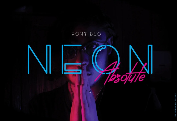 3 Classy Neon Duo Fonts