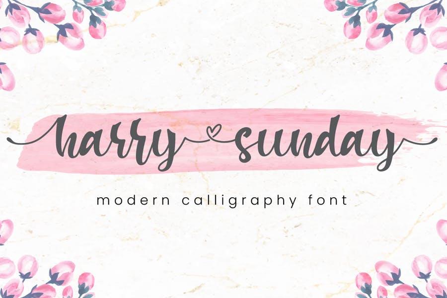 3 Stylish Harry Calligraphy fonts