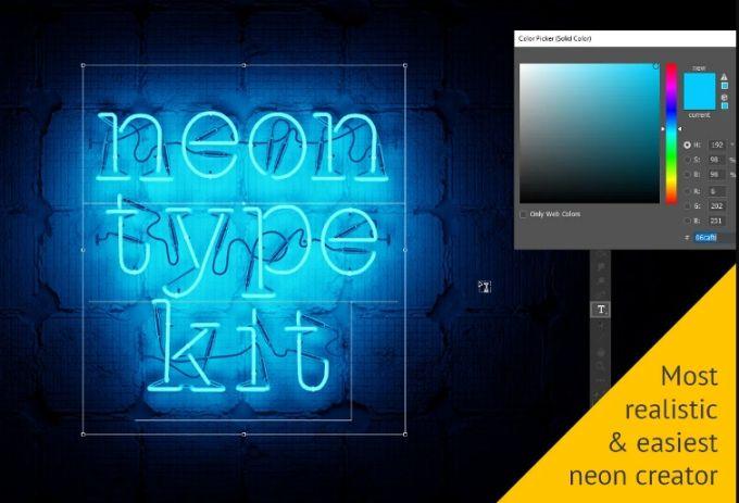 3D Neon Text Creator
