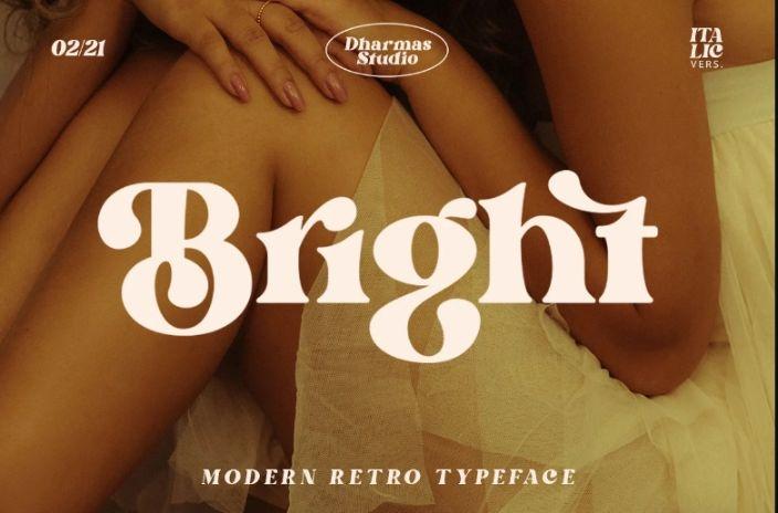 60s Retro Typeface Fonts