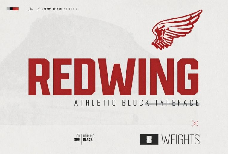 Athletic Bold Display Typeface