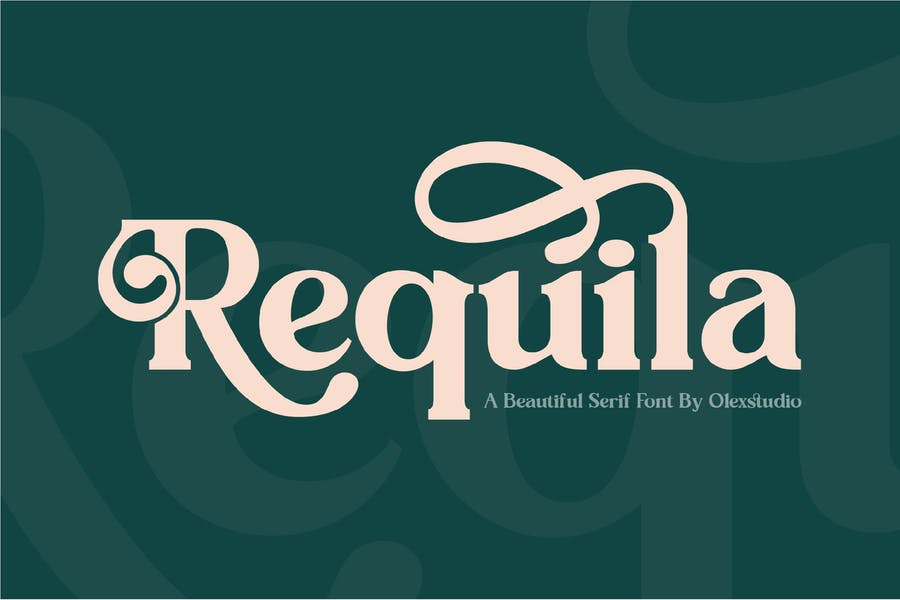 Beautiful Vintage Serif Fonts
