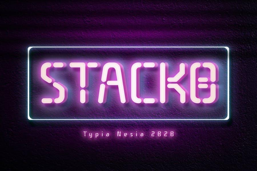 Best Font for Neon Logo