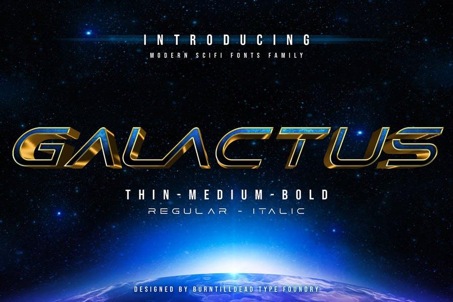 Best Sci Fi Font Family