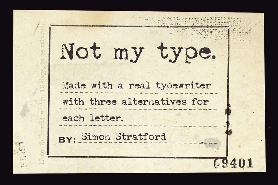 Best Typewriter Fonts Download