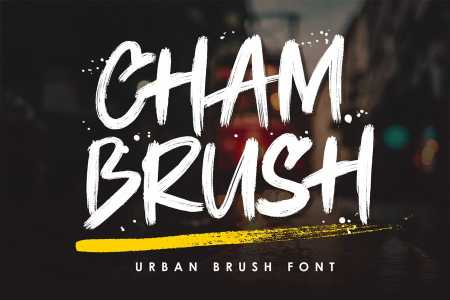 Casual and Fun Urban Typeface