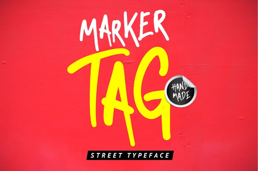 City Street Display Typeface