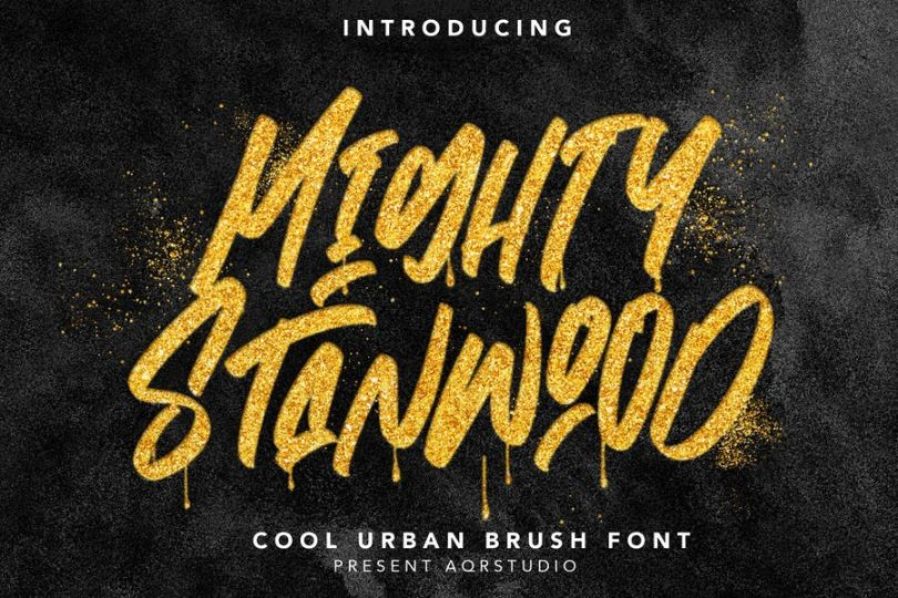 Cool Urban Fonts Set