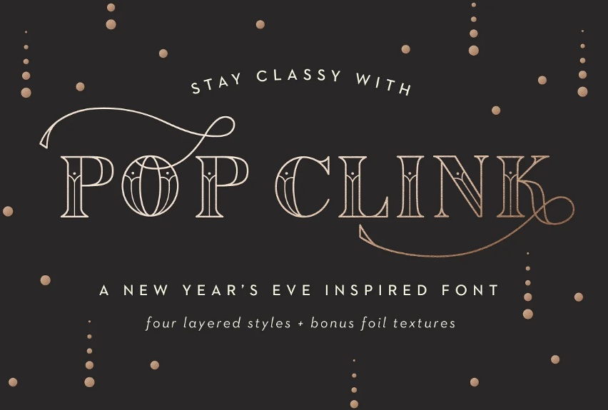 Creative Chic Fonts