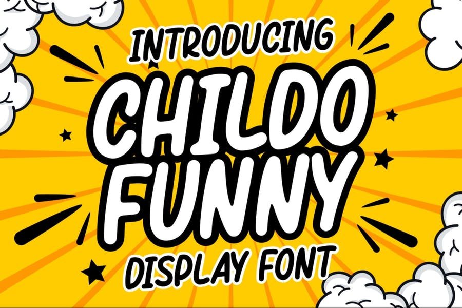 Creative Funny Display Fonts