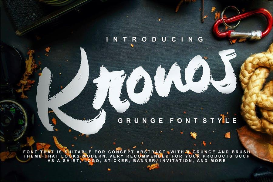 Creative Grunge Calligraphy Style