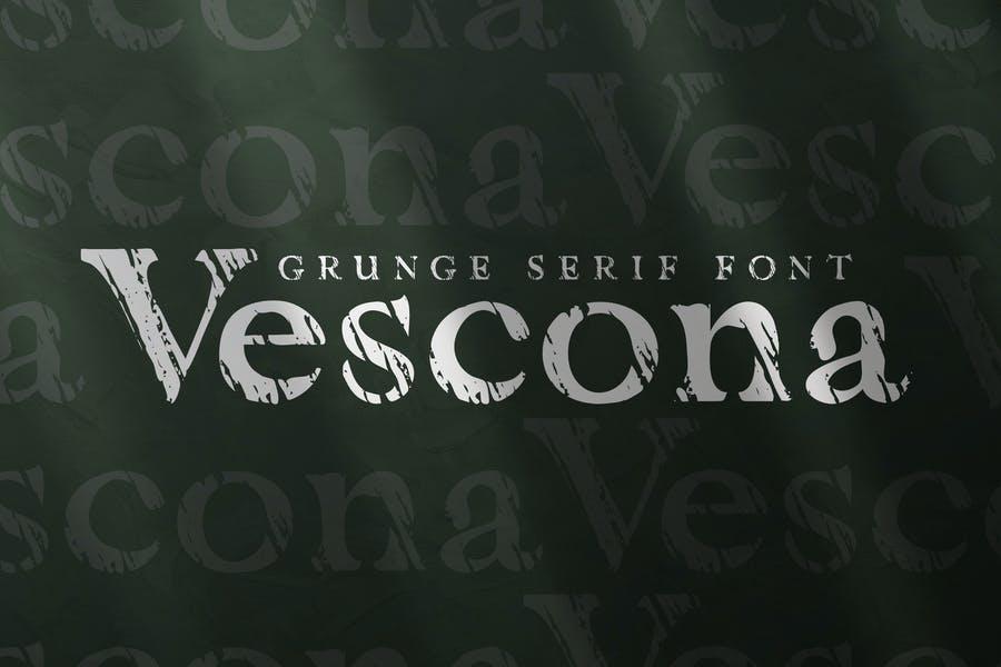 Creative Grunge Serif Fonts