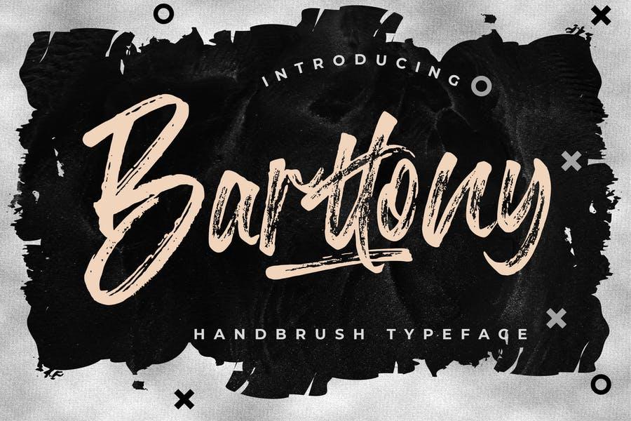 Creative Handmade Brush Fonts