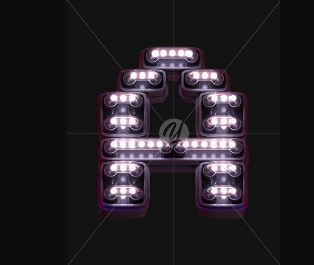 Creative Neon Light Fonts