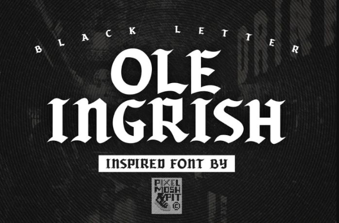 Creative Old Inspiratiotion Fonts