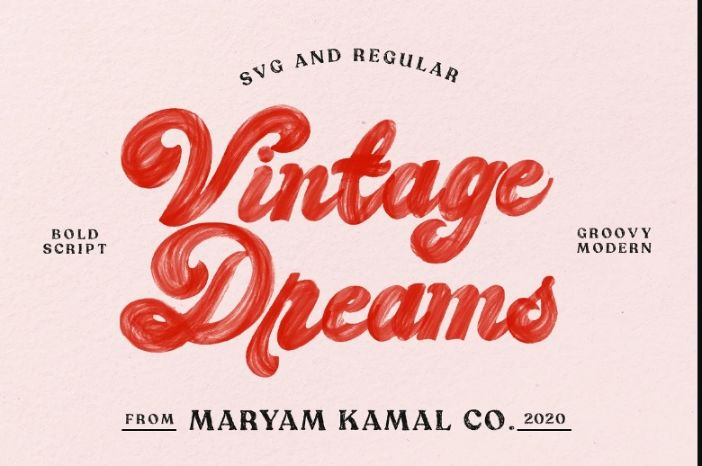 Creative Vintage Grooy Fonts