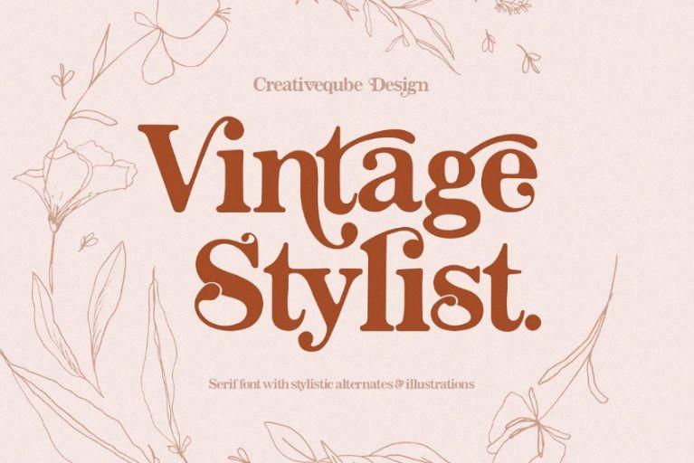Creative Vintage Stylish Fonts