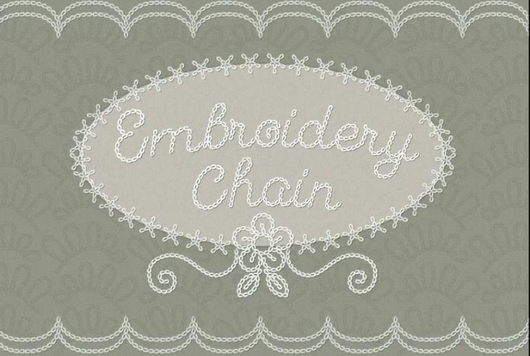 Cursive Emboidery Fonts