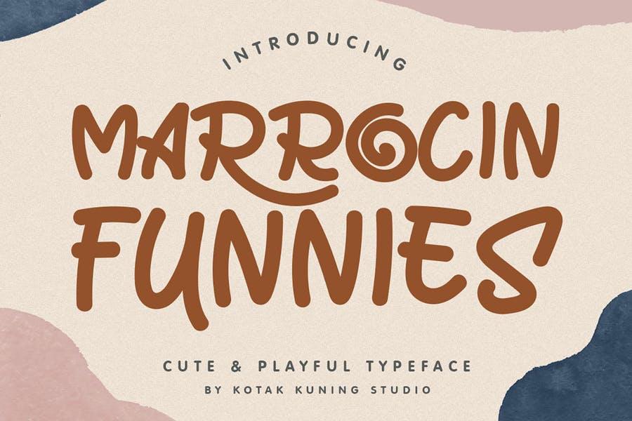 Cute Funny Display Fonts