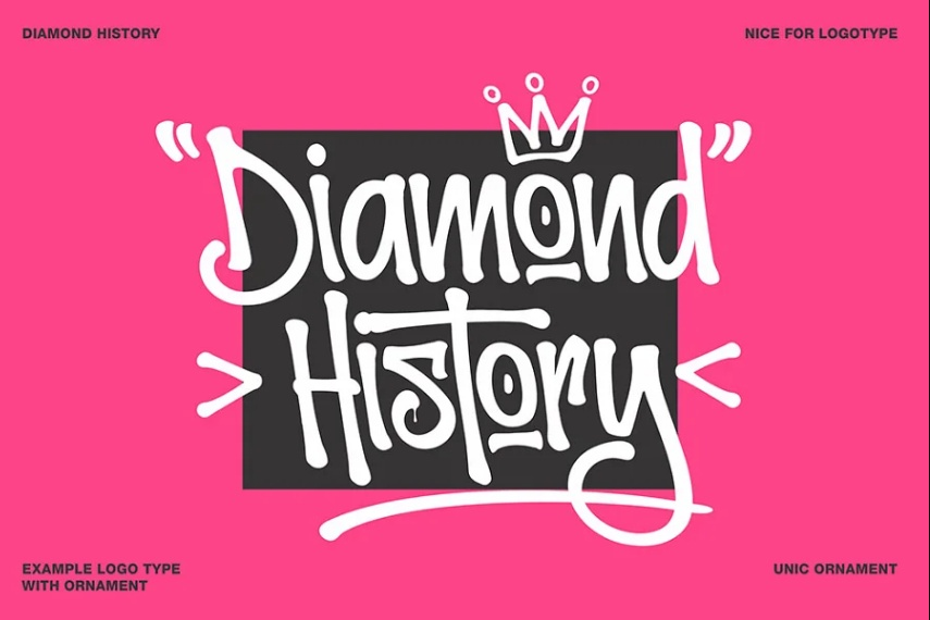 Diamond Grafitti  Fonts