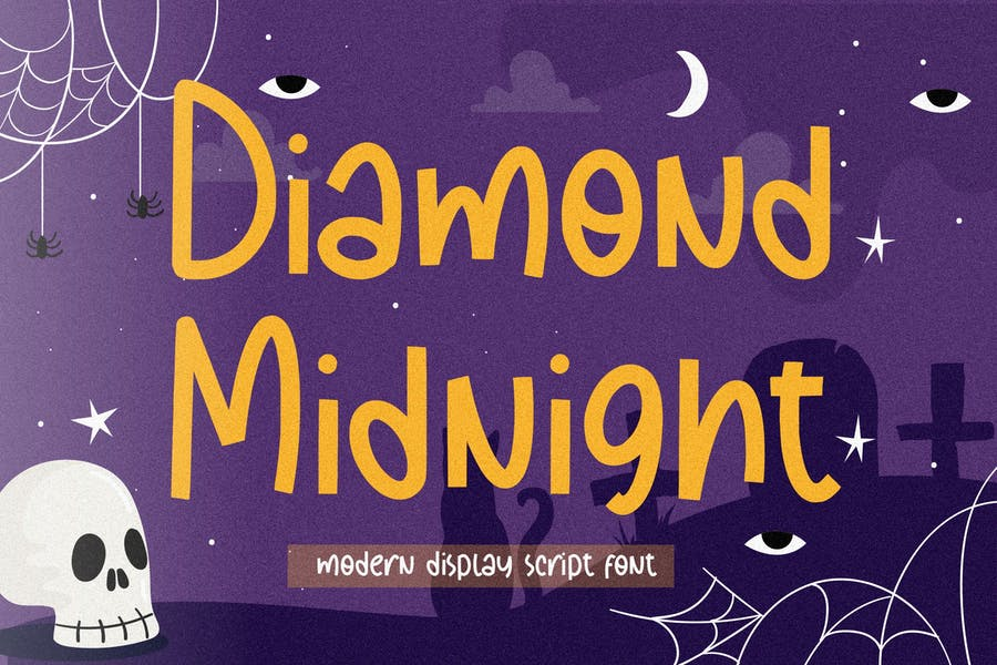 Diamond Midnight Display Font