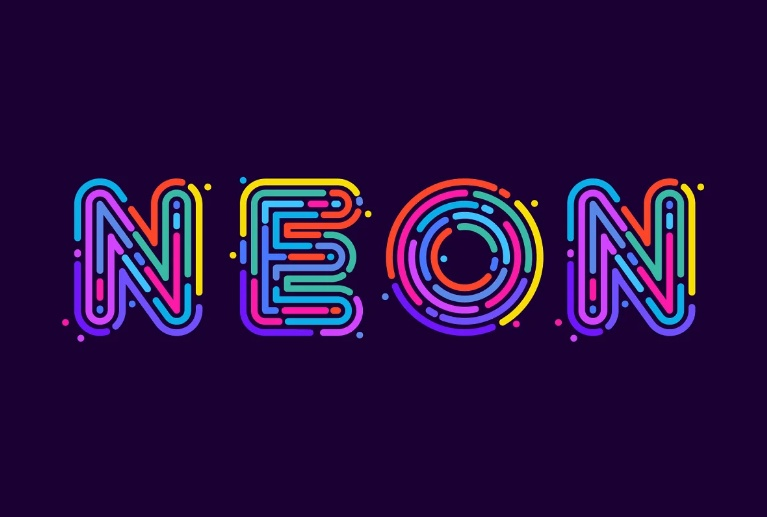 Electric Neon Effect Fonts