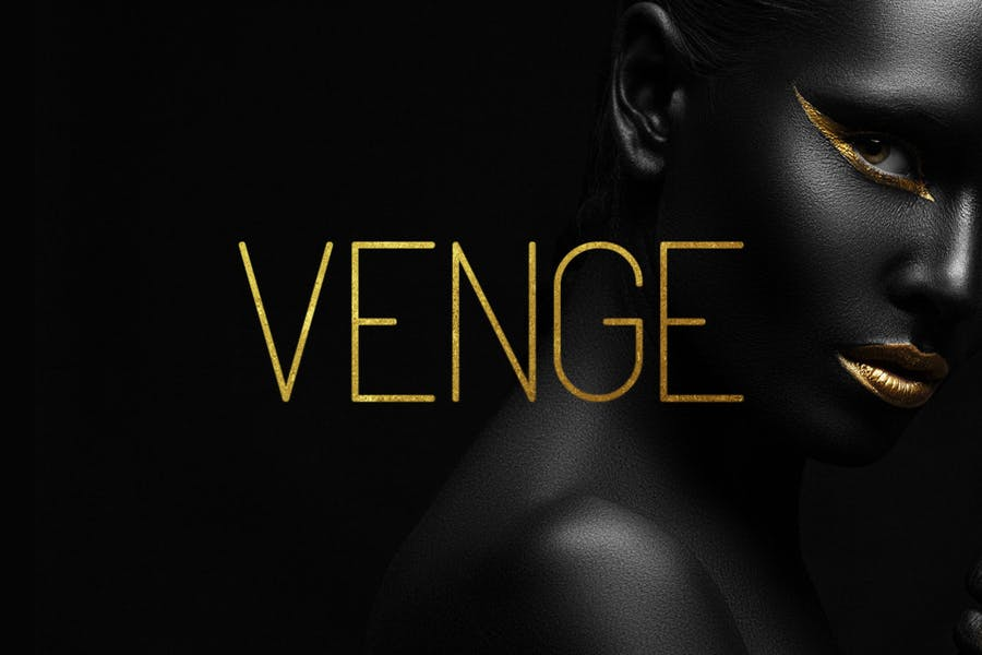 Fashionable Thin Display Typeface