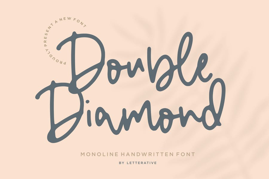 Feminine Diamond Duo Font