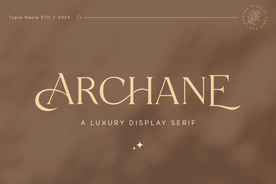 Feminine Luxury Display Fonts