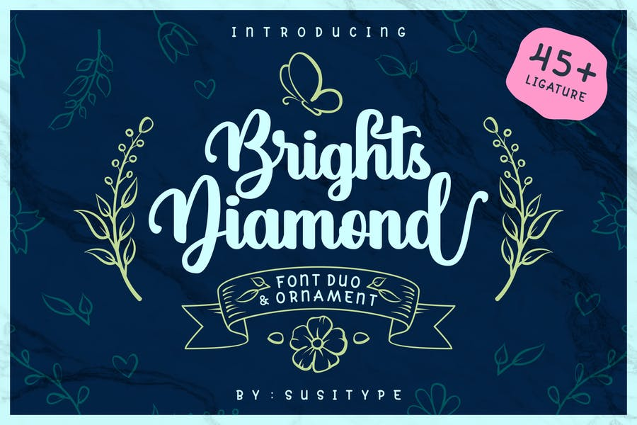 Fonts for Diamond Store Branding