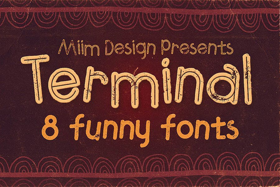 Fun and Grungy Display Fonts