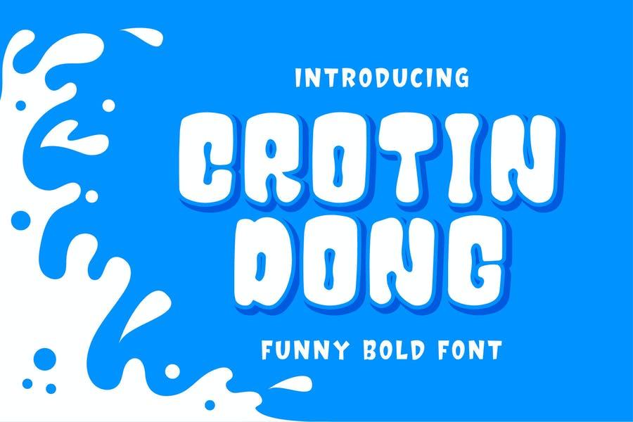 Funny Bold Fonts
