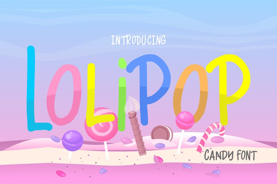 Funny Candy Fonts