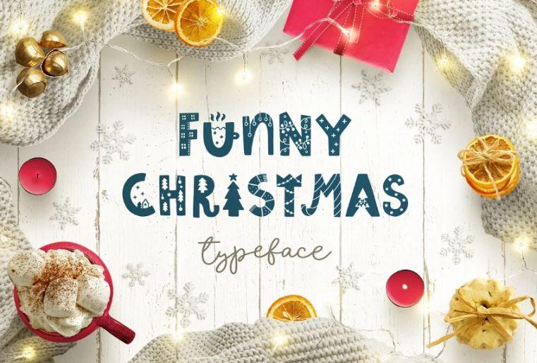 Funny Decorative Christmas Fonts