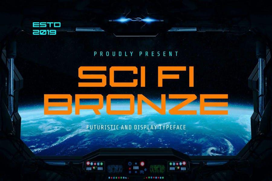 Futuristic Sci Fi Typeface