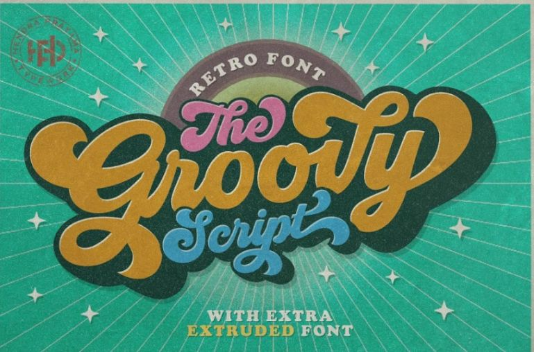 Groovy Calligraphy Fonts