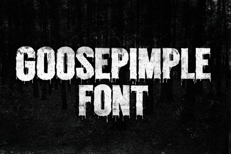 Grungle Styled Halloween Fonts