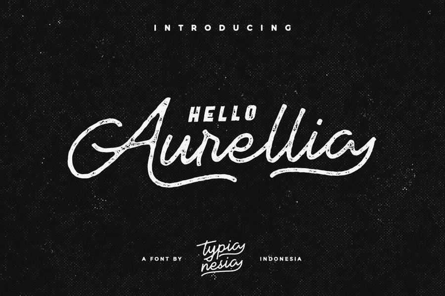 Handcrafted and Textured Vintage Fonts