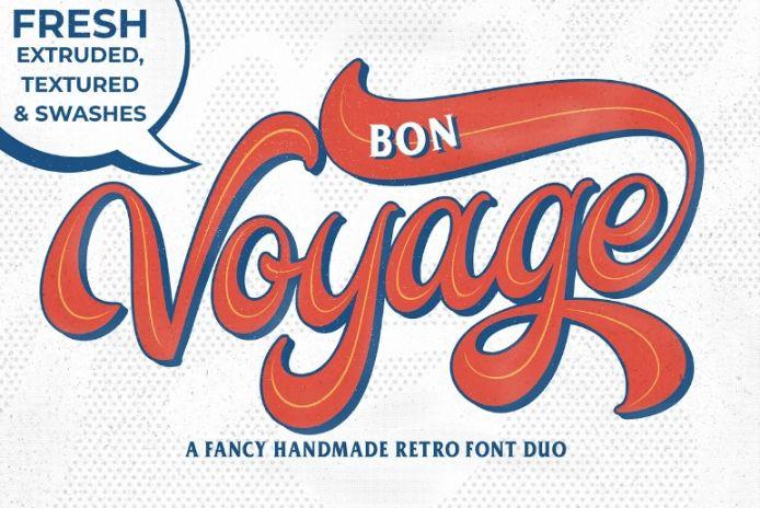 Handmade Retro Duo Font
