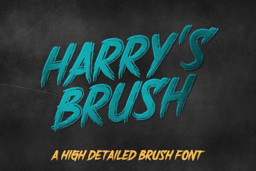 Harry Potter Brush Fonts