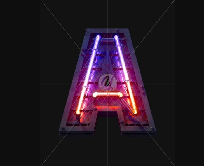Heavy Neon Light Fonts