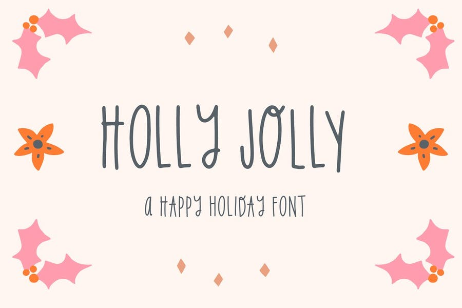 Holiday Jolly fonts
