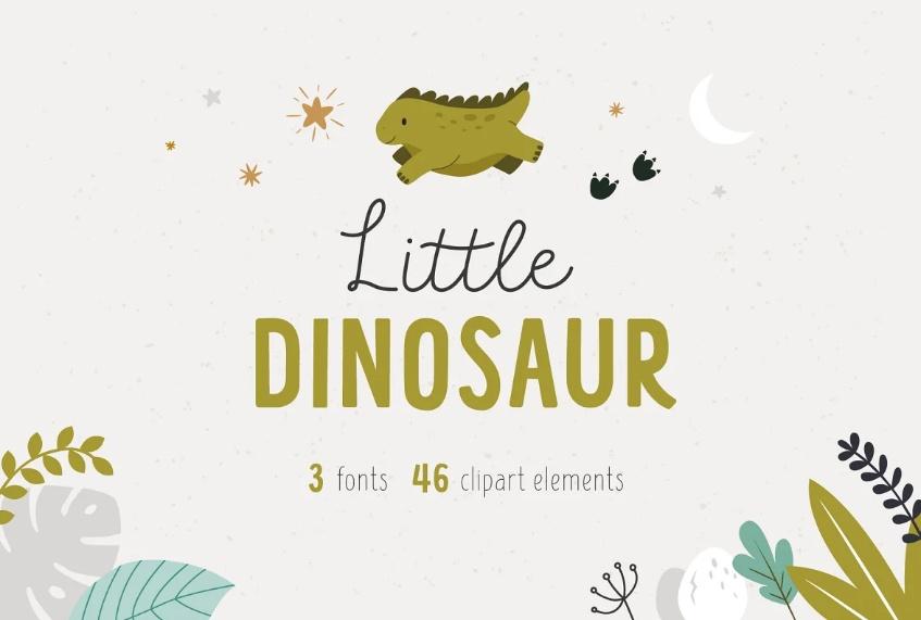 Kids Illustrations Fun Fonts