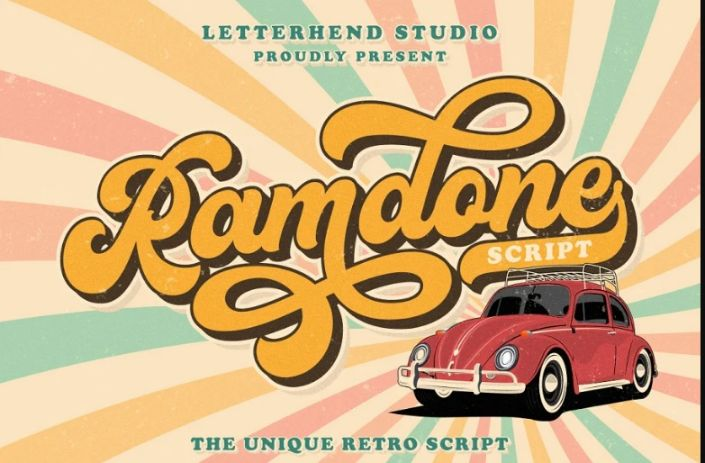 Layered Retro Funky Fonts