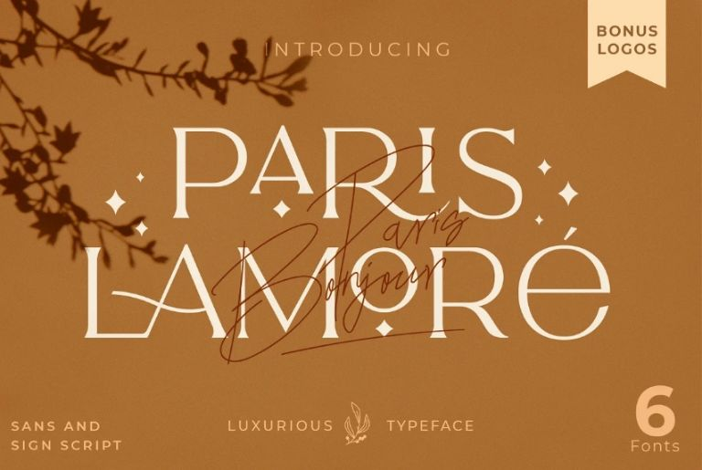 Luxury Branding Duo Fonts