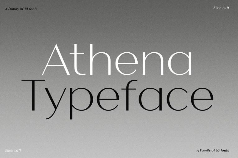 Minimal Thin and Bold Fonts