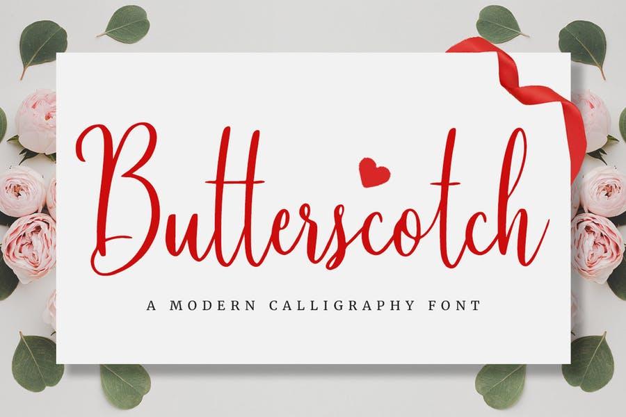 Modern Cursive Romantic Fonts